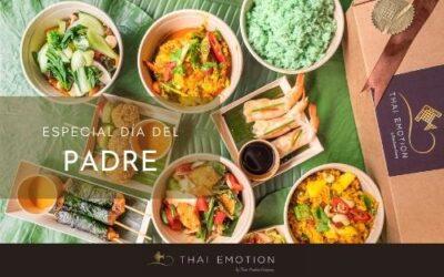 Sorprende en el día del padre regalando la mejor comida tailandesa de Madrid