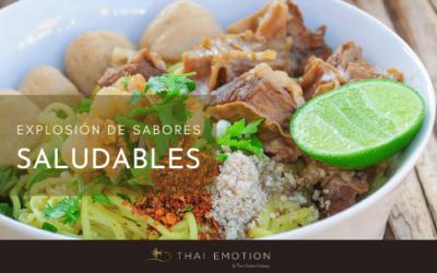 Comida tailandesa, un mundo de sensaciones… saludables