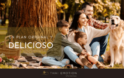 Llévate tu comida thai de picnic para el día de la madre
