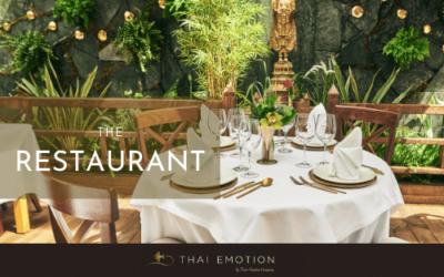 Thai Garden el emblemático restaurante tailandés, ahora en The Restaurant