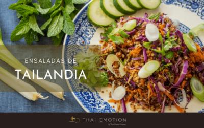 Ensalaladas thai frescas para combatir el calor