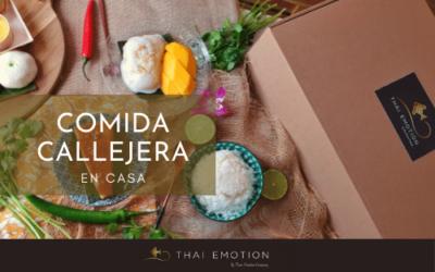 Saborea la auténtica street food tailandesa en tu casa