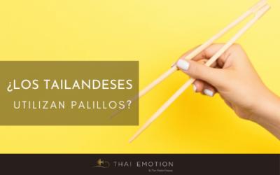 ¿Los palillos se utilizan en la gastronomía tailandesa?