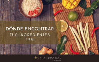 Cómo encontrar en el mercado tus ingredientes thai